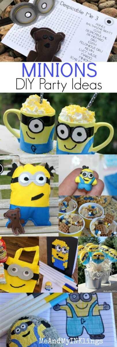 7dc8ec797 These DIY party ideas and a printable are ones that we have used in years  past to celebrate the awesome bonds of family and friendships. We love the  minions ...