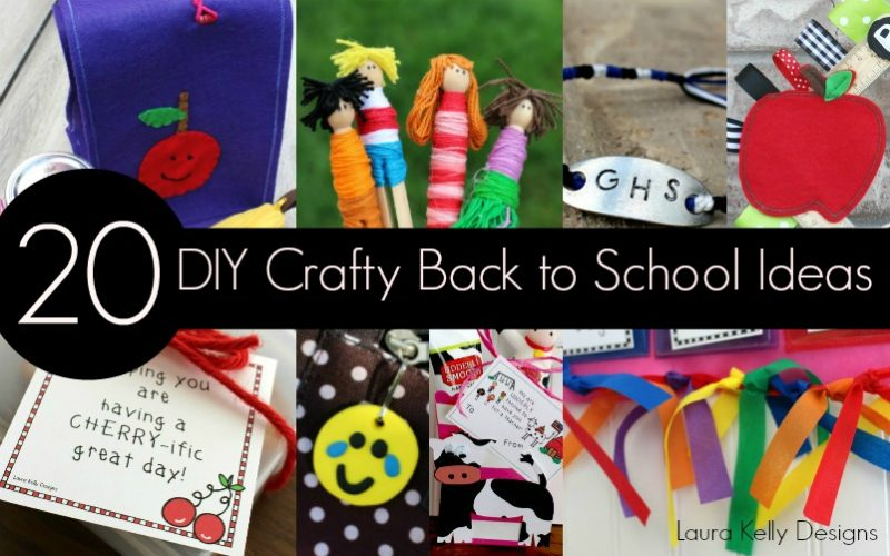 20 Back to School DIY Ideas to Do At Home