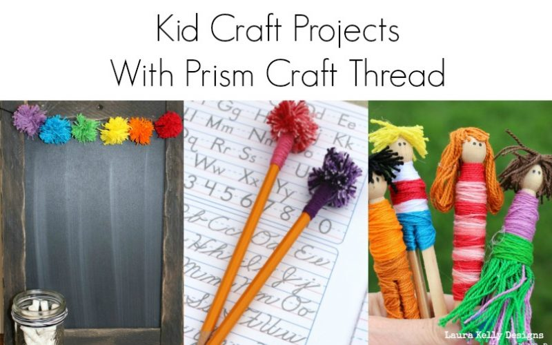 Creative Back to School Ideas with Craft Thread