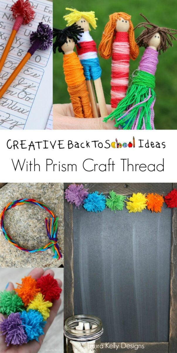 Creative Back To School Ideas With Craft Thread Laura Kelly S Inklings