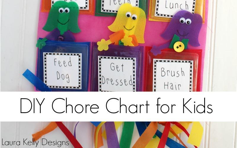Interchangeable Back to School Chore Chart