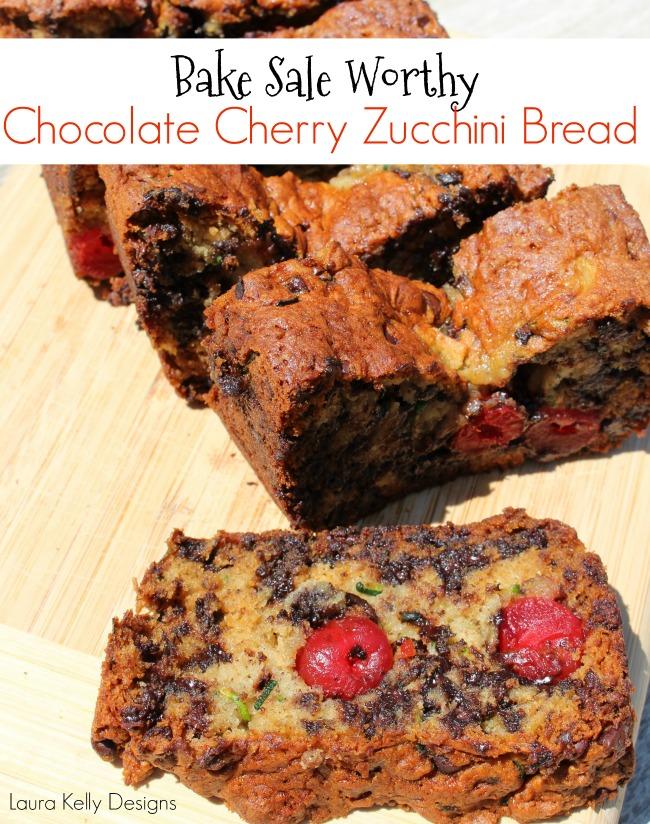 Gluten Free Zucchini Cherry Bread Recipe