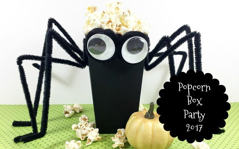 Halloween Popcorn Box Party 2017