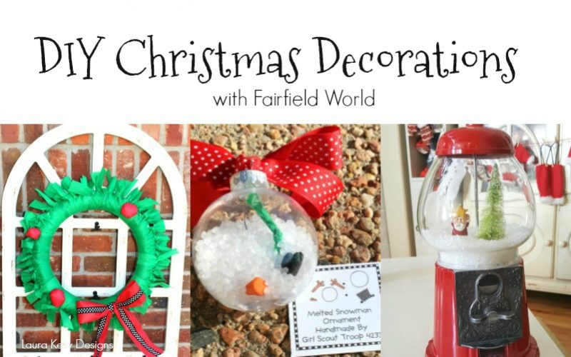 Simply Darling DIY Holiday Decor Projects with Fairfield World