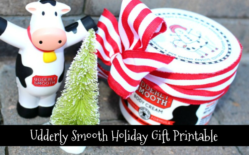 Udderly Smooth Holiday Gift Printable