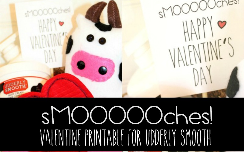 A sMOOOOOch for Valentine's Day with Udderly Smooth