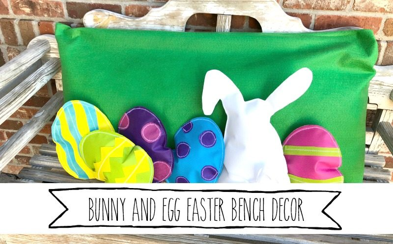 Darling Easter Eggs and Bunny Home Decor