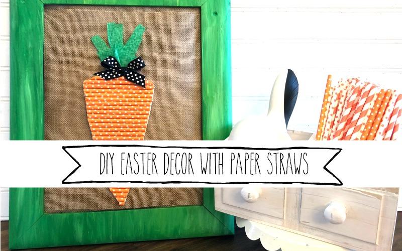 DIY Carrot Art Decor