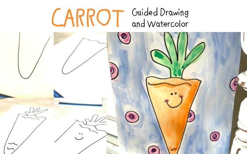 Carrot Art – A Guided Drawing