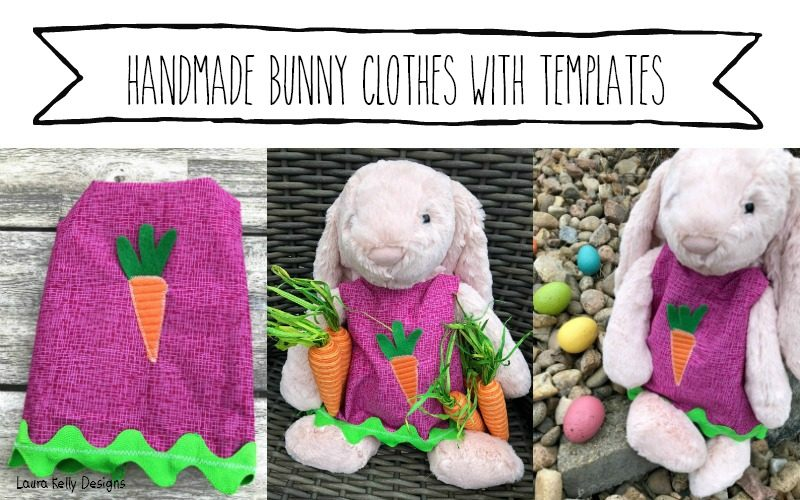 Making Bunny Clothes with Quick-Trace Doll Fashions Templates