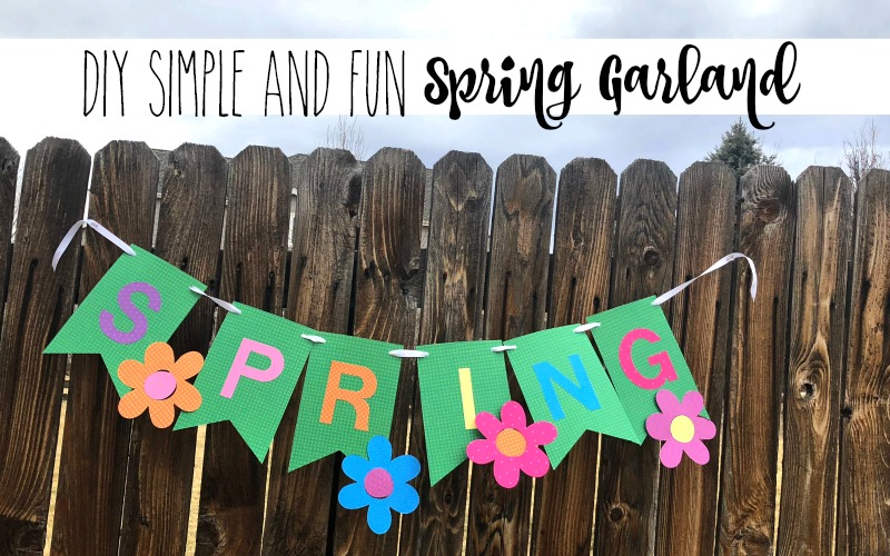 Quick and Simple SPRING Garland