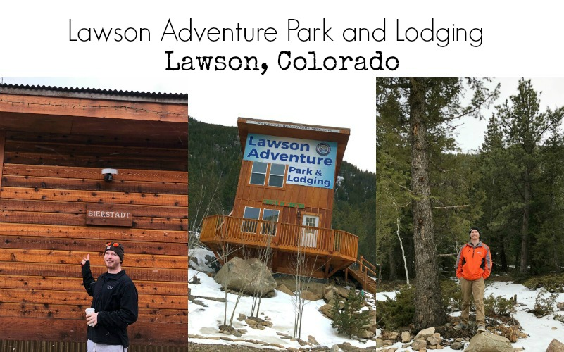 wintertime cabins at lawson adventure park