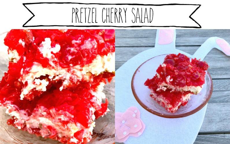 Cherry Pretzel Salad