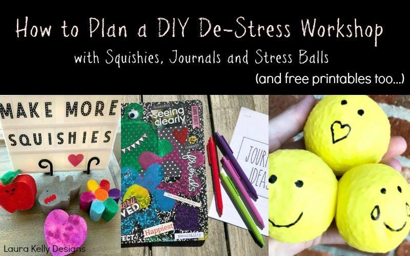 How to Plan a DIY De-Stress Workshop for Kids