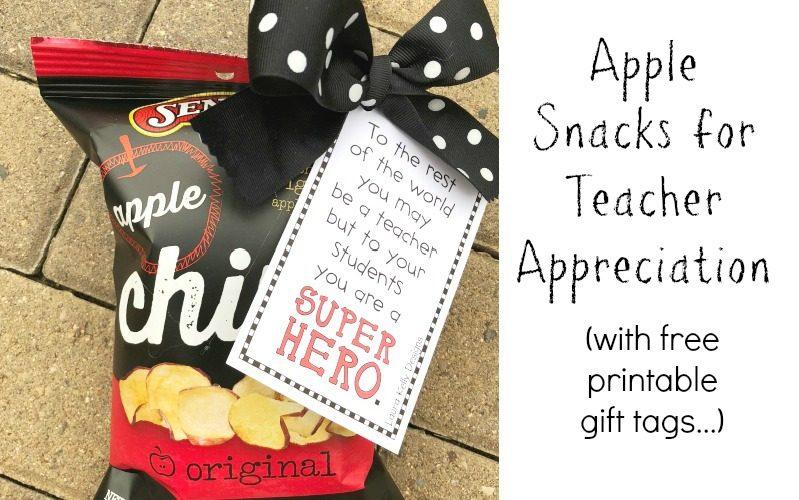 Seneca Apple Chips For Teacher Treats