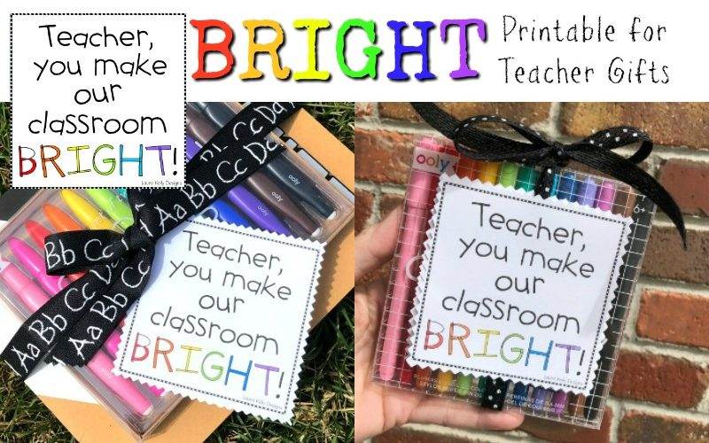 Posters and BRIGHT Happy Teacher Appreciation Gifts