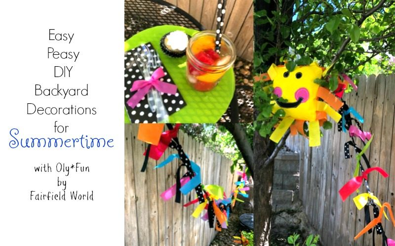 Summertime Party Decor for Backyard Celebrations