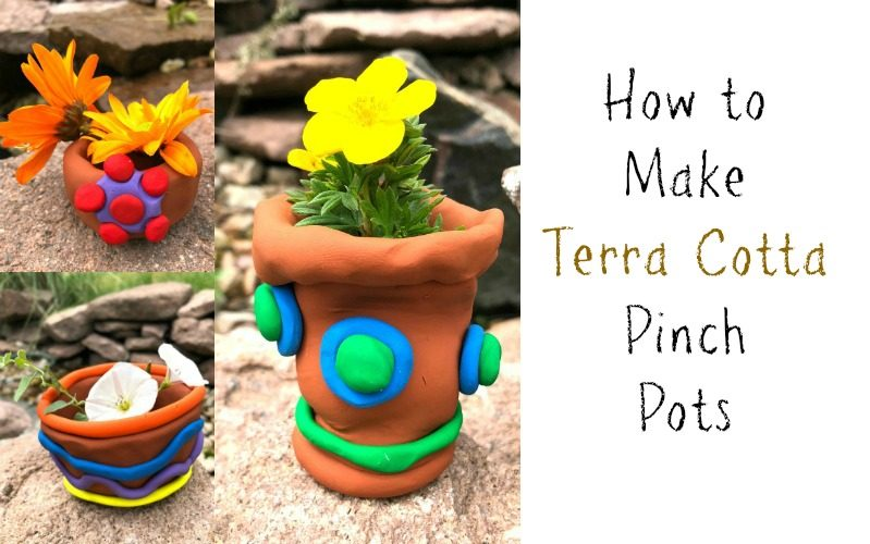 Terra Cotta Pinch Pots for Summertime Crafting