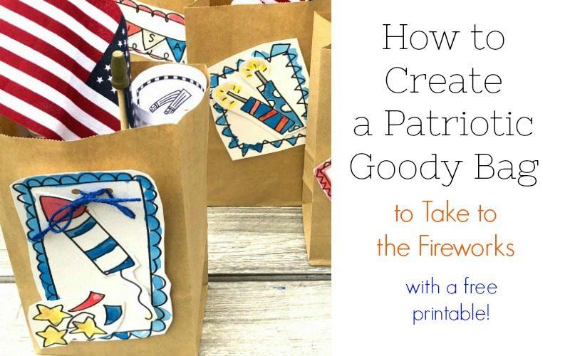 How to Create Patriotic Goody Bags