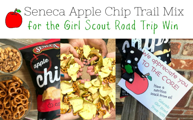Sweet and Salty Apple Chip Trail Mix