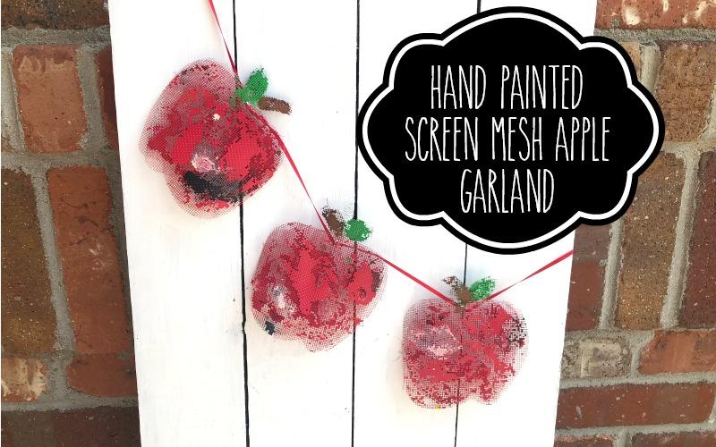 Three Easy Peasy Back to School Hand Painted Decor Ideas