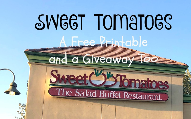 Sweet Tomatoes and a Giveaway