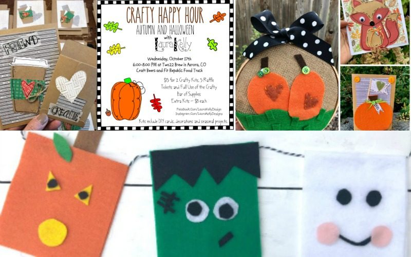 Crafty Happy Hour Autumn and Halloween 2018
