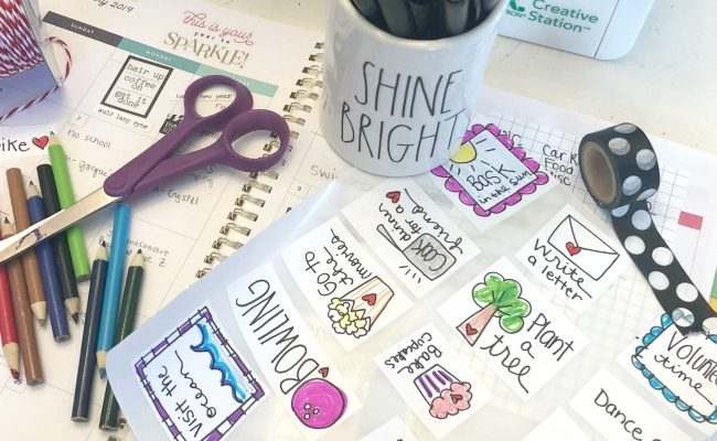 Planner Stickers Happiness Doodles