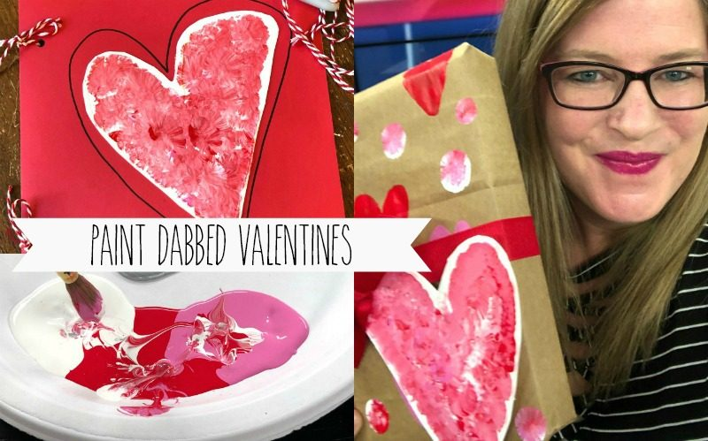 Paint Dabbed Valentines