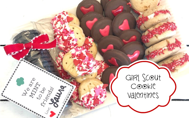Girl Scout Cookie Valentines