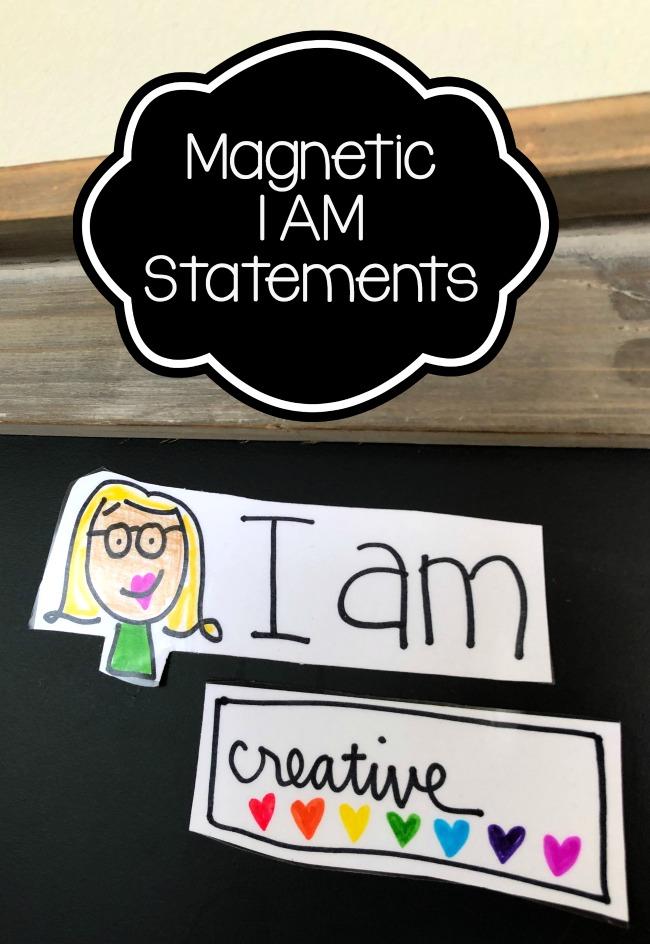 Magnetic I AM Statements