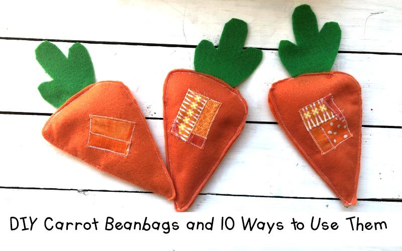 Carrot Beanbags