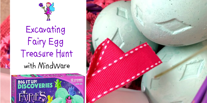 MIndWare Fairy Eggs in Basket with Clue