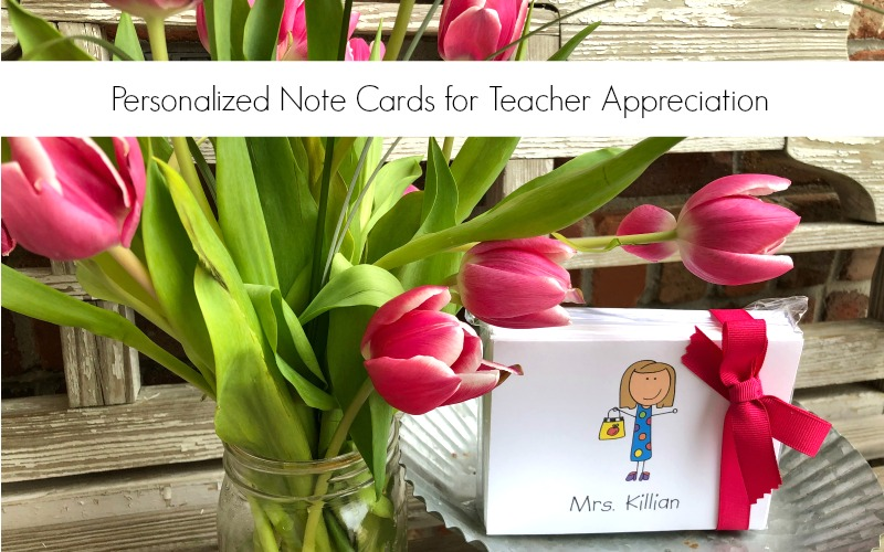 Teacher Appreciation Note Cards