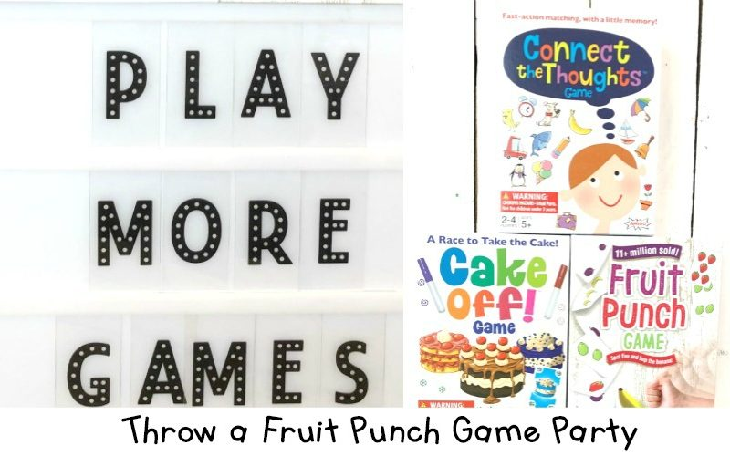Fruit Punch Game Party