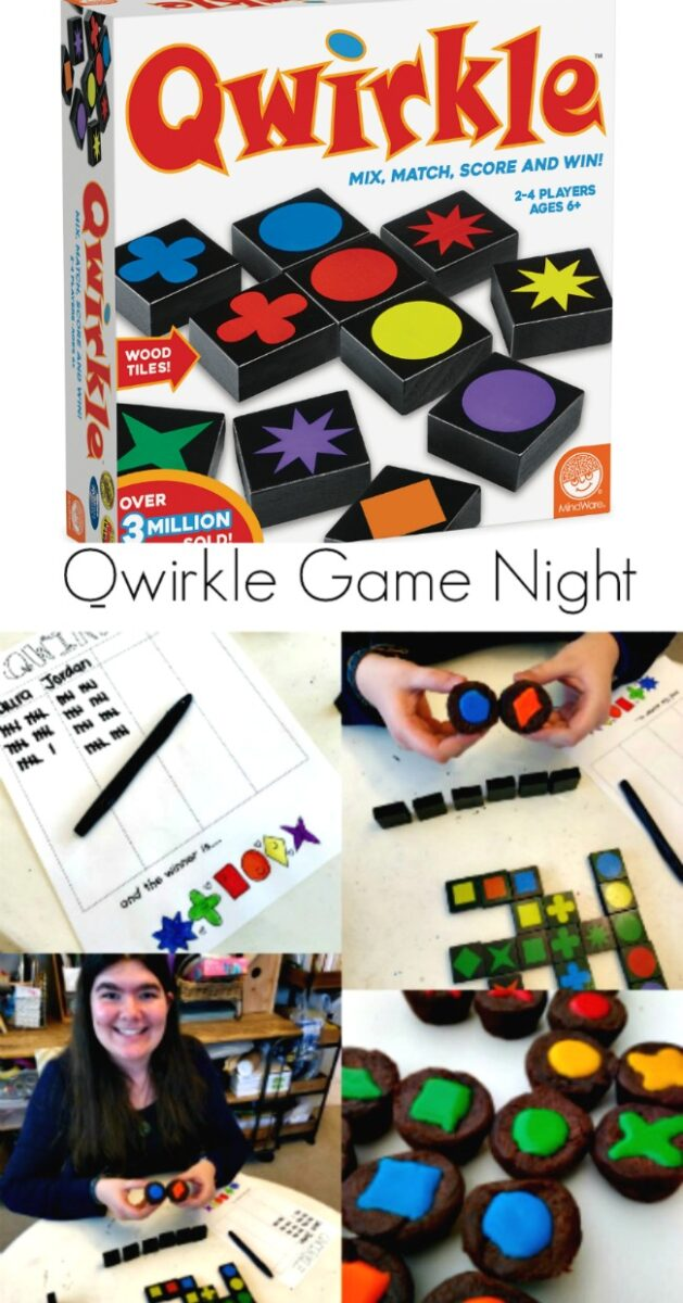 Qwirkle Family Game Night