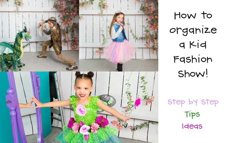 How to Organize a Kid Fashion Show