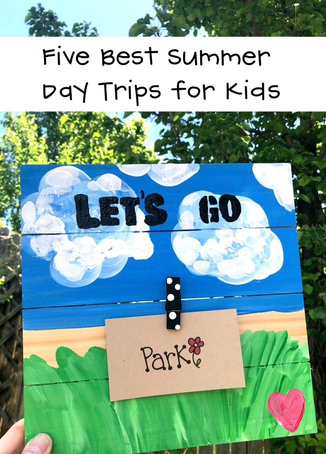 Five Best Summer Day Trips for Kids with Craft Projects for On the Go