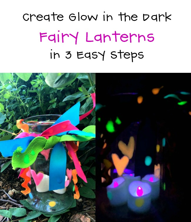 Glow in the Dark Fairy Lantern GloBrite by Beacon