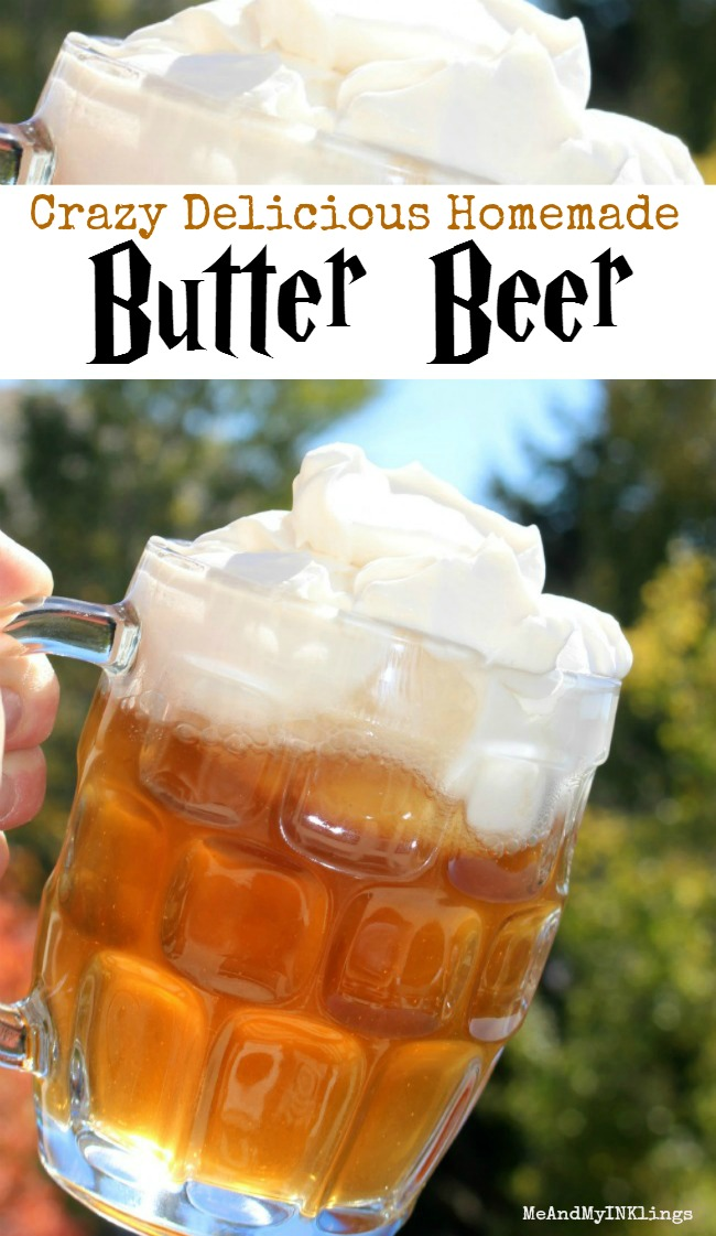 Butter Beer Recipe for Harry Potter Parties