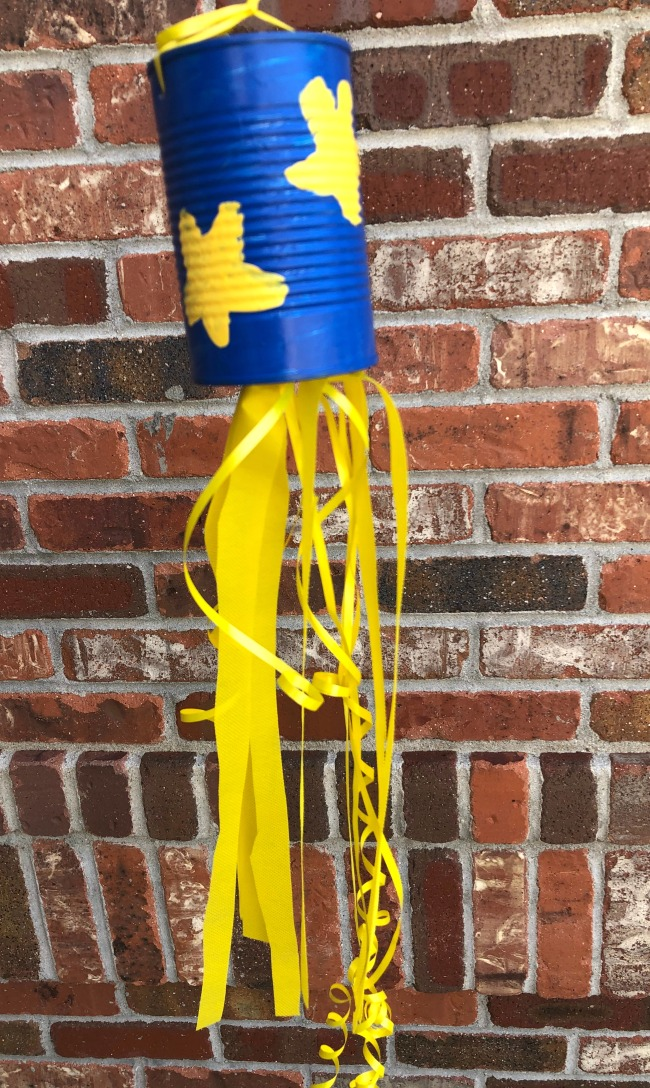 DIY Windsock from Recycled Soup Can
