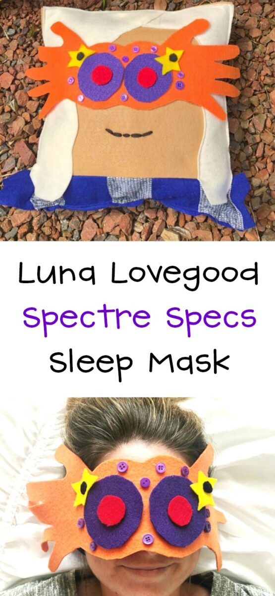 Luna Lovegood Sleep Mask DIY Spectre Specs