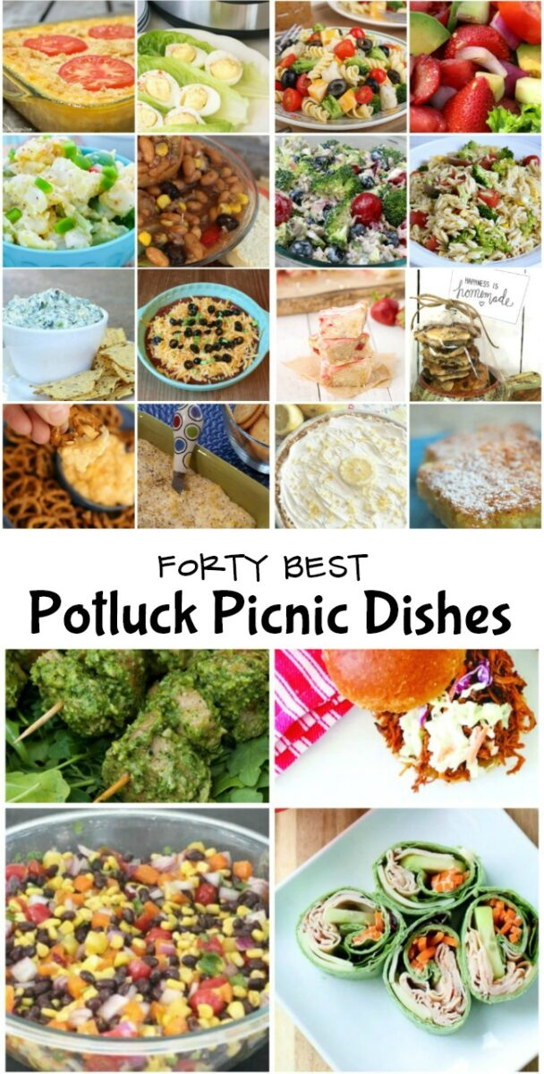 Forty Best Pot Luck Dishes for Picnics and Parties