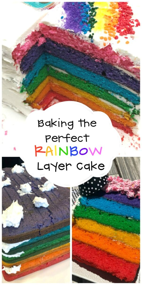 Baking the Perfect Rainbow Layer Cake Tips and Tricks