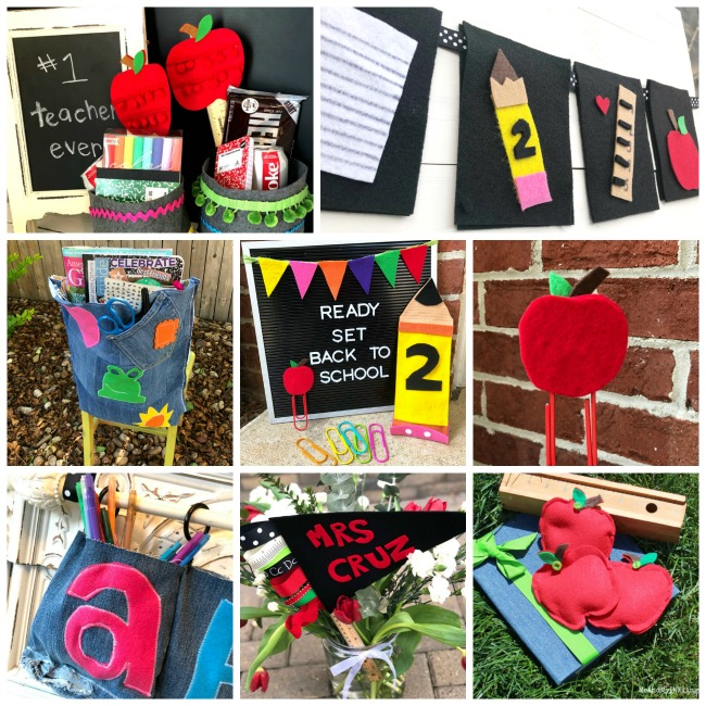 Best Back to School Felt Crafts