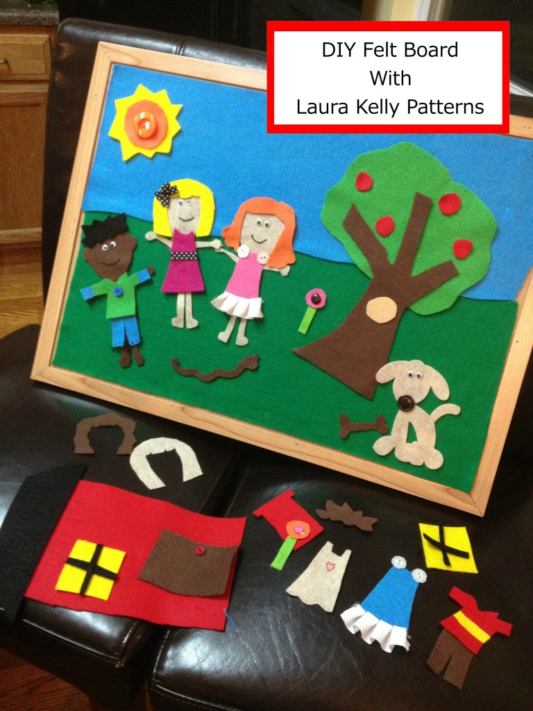 Felt Board with Free Patterns from Laura Kelly Designs