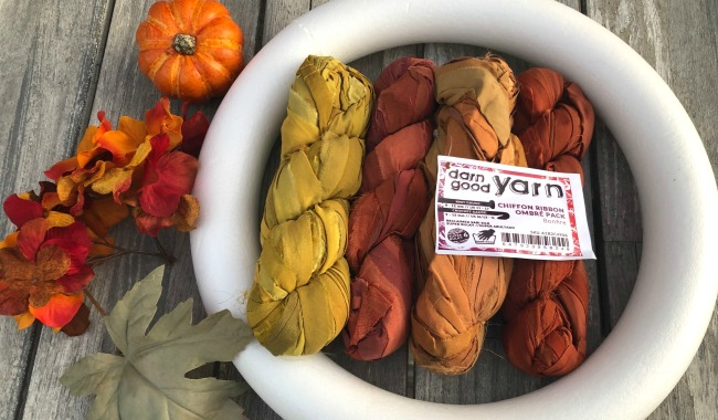 Darn Good Yarn Chiffon Ribbon Ombre Pack