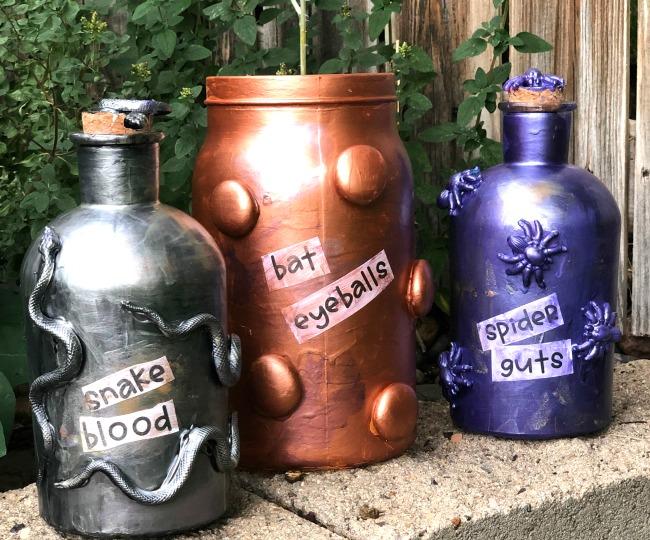 DIY Spell Jar Decorations