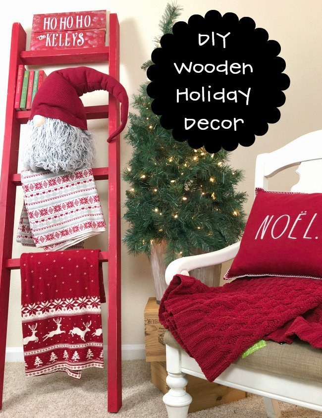 DIY Wooden Holiday Decorations