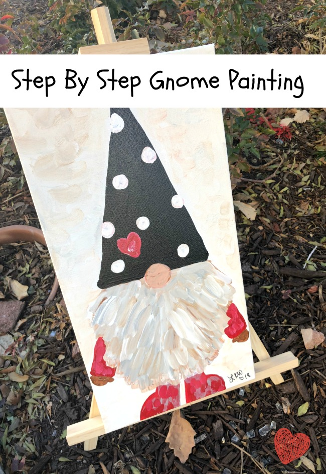 Step By Step Gnome Painting